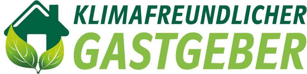 Logo Klimafreundlicher Gastgeber