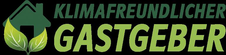 Logo: Klimafreundlicher Gastgeber