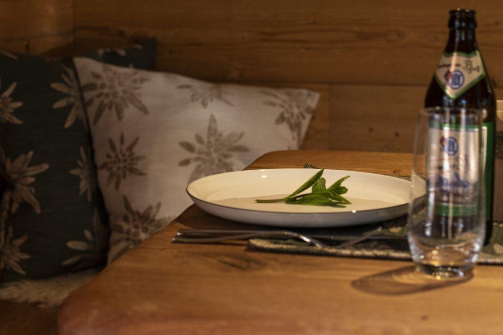 Essenstisch und Sitzecke