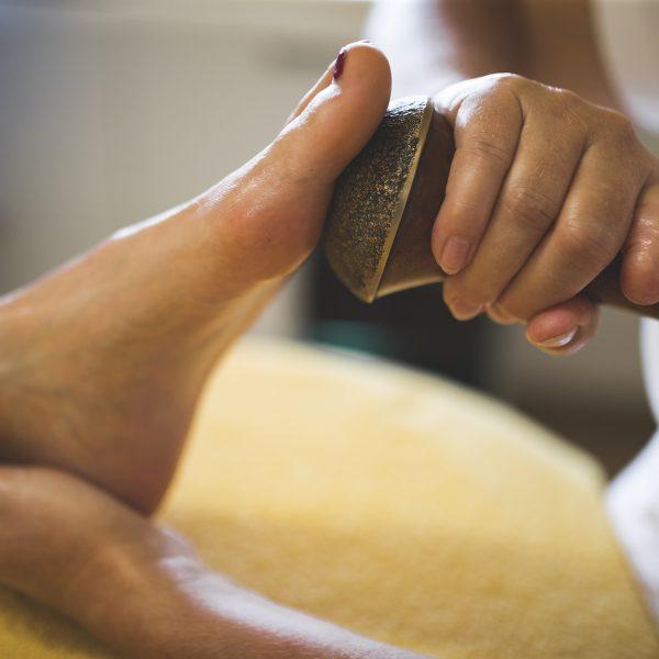 Wellness im Almdorf Vorderbrand - leichte Füße