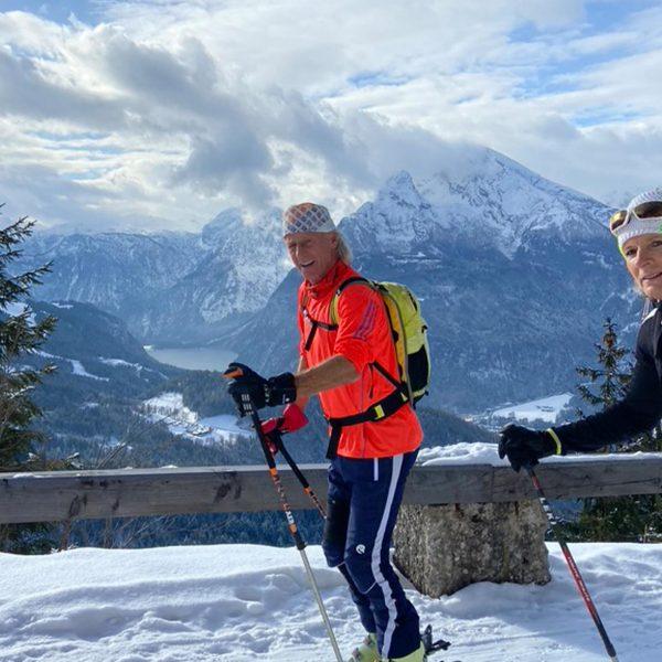 Bildmotiv: Skitour auf den Kehlstein