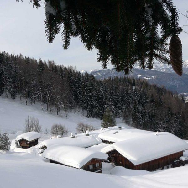 Bildmotiv: Vorderband vor dem Umbau im Winter