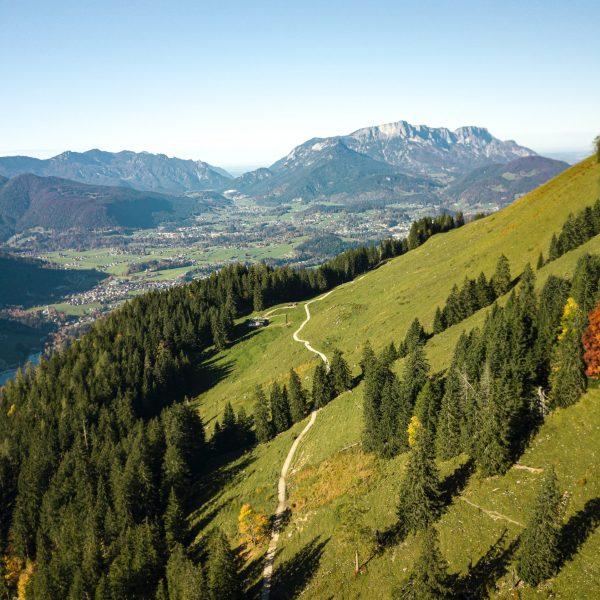 Bildmotiv: Königsweg von oben