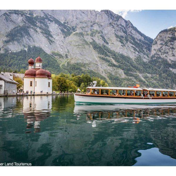 bildmotiv: Schiff auf dem Königssee